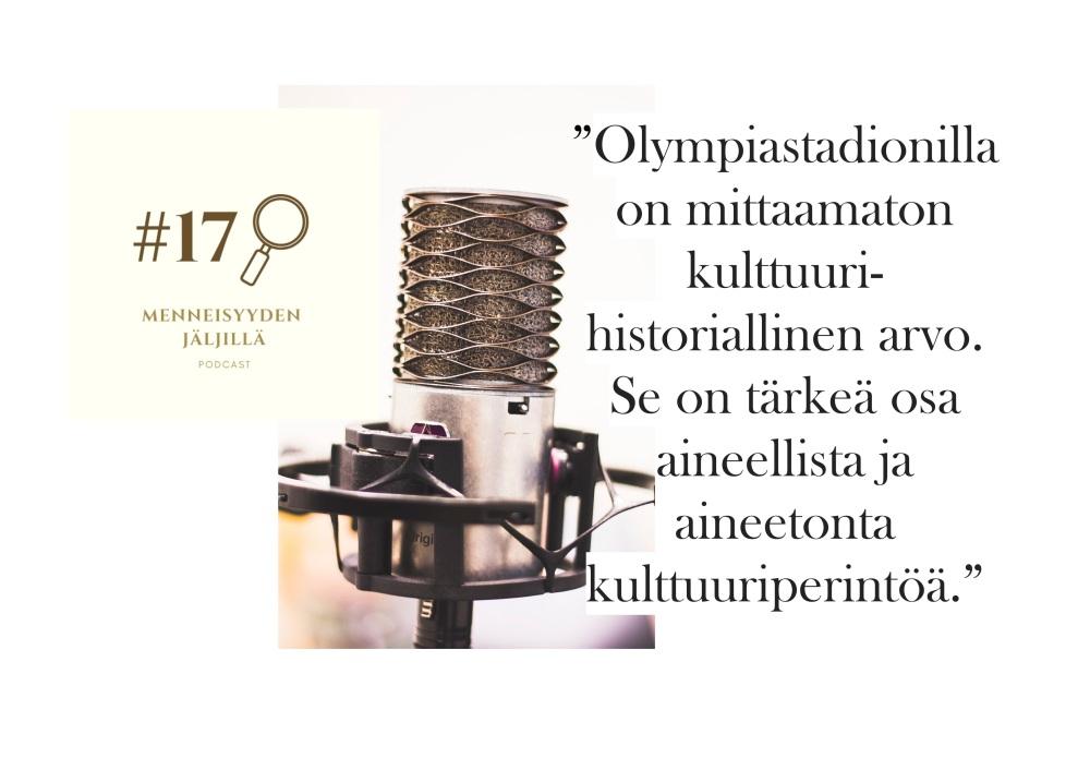 #17 Helsingin Olympiastadion avajaisista toisiin