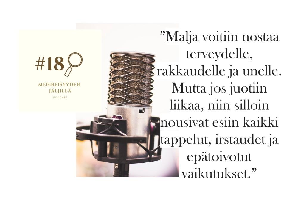 #18 Oluet, kestikievarit ja 1600-luvun Suomen juomakulttuuri