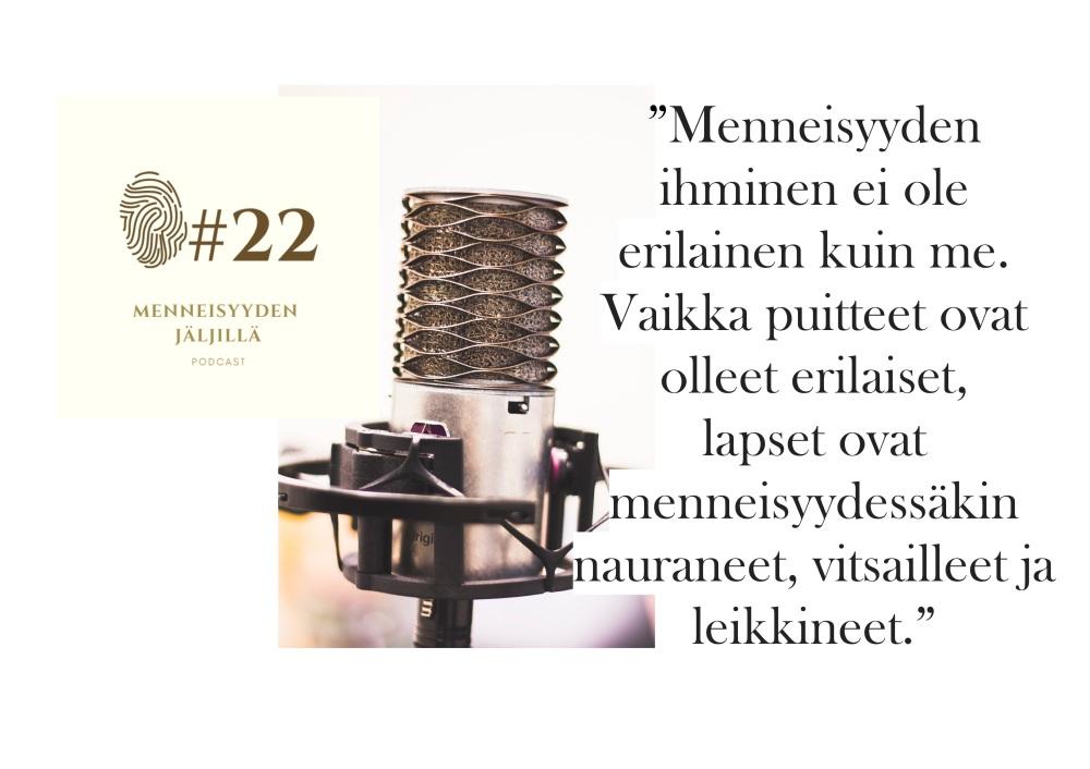 #22 Lastenkirjallisuus ja historiaa koko perheelle