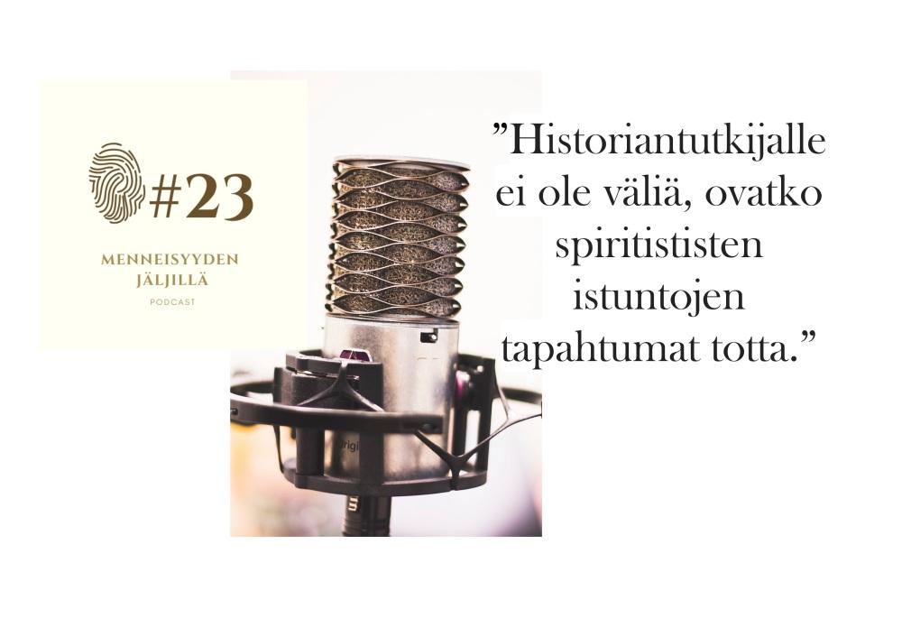 #23Spiritistiset istunnot ja okkultismi 1890-luvun Suomessa